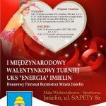 """I Walentynkowy Turniej UKS """"ENERGIA """" Imielin"""