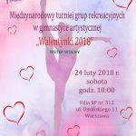 """Turniej Grup Rekreacyjnych """"Walentynki 2018"""""""