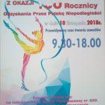 Turniej z okazji 100 Rocznicy Odzyskania przez Polskę Niepodległości